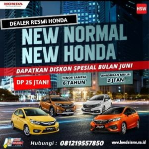 Promo Honda Terbaru New Normal 2020
