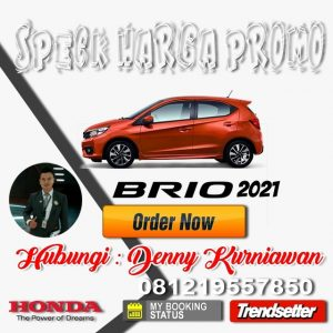 Harga Honda Brio 2021