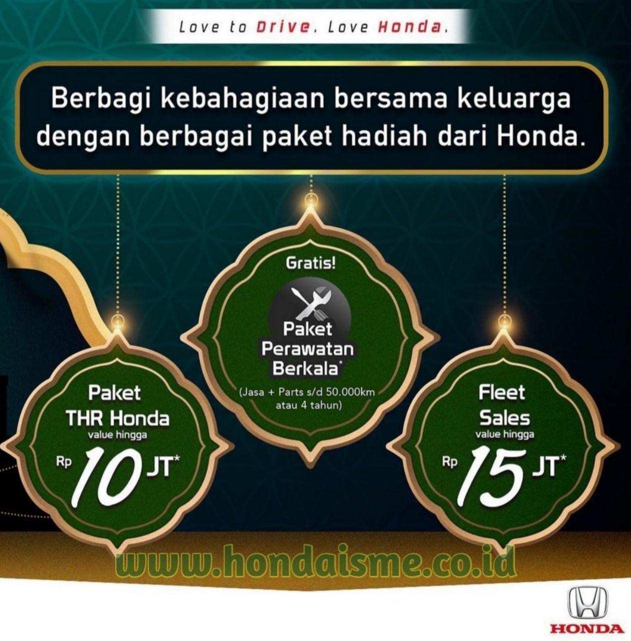 Promo Paket THR Honda 2021