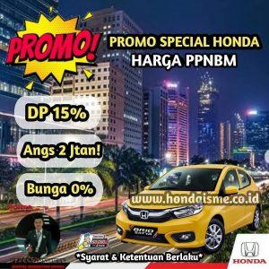Promo Honda Brio PPnBM