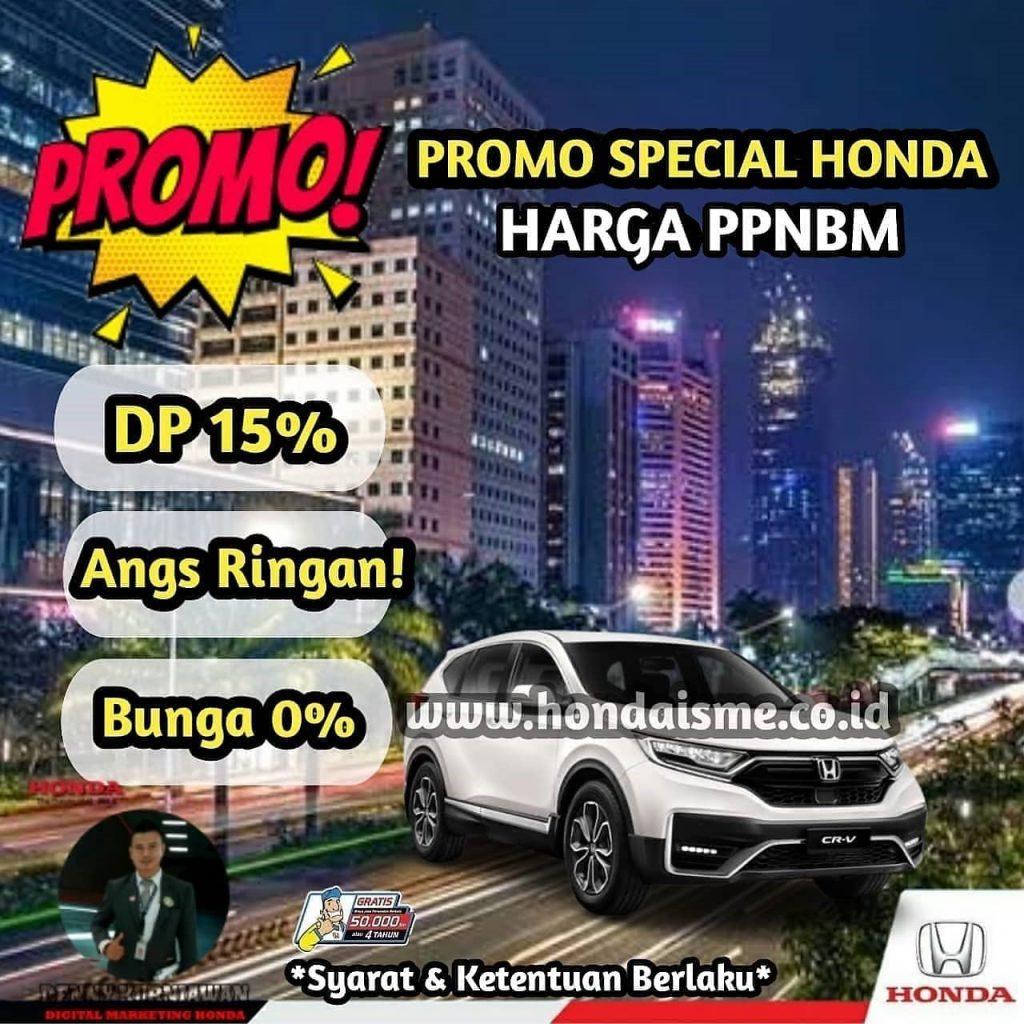 Promo Honda CR-V PPnBM