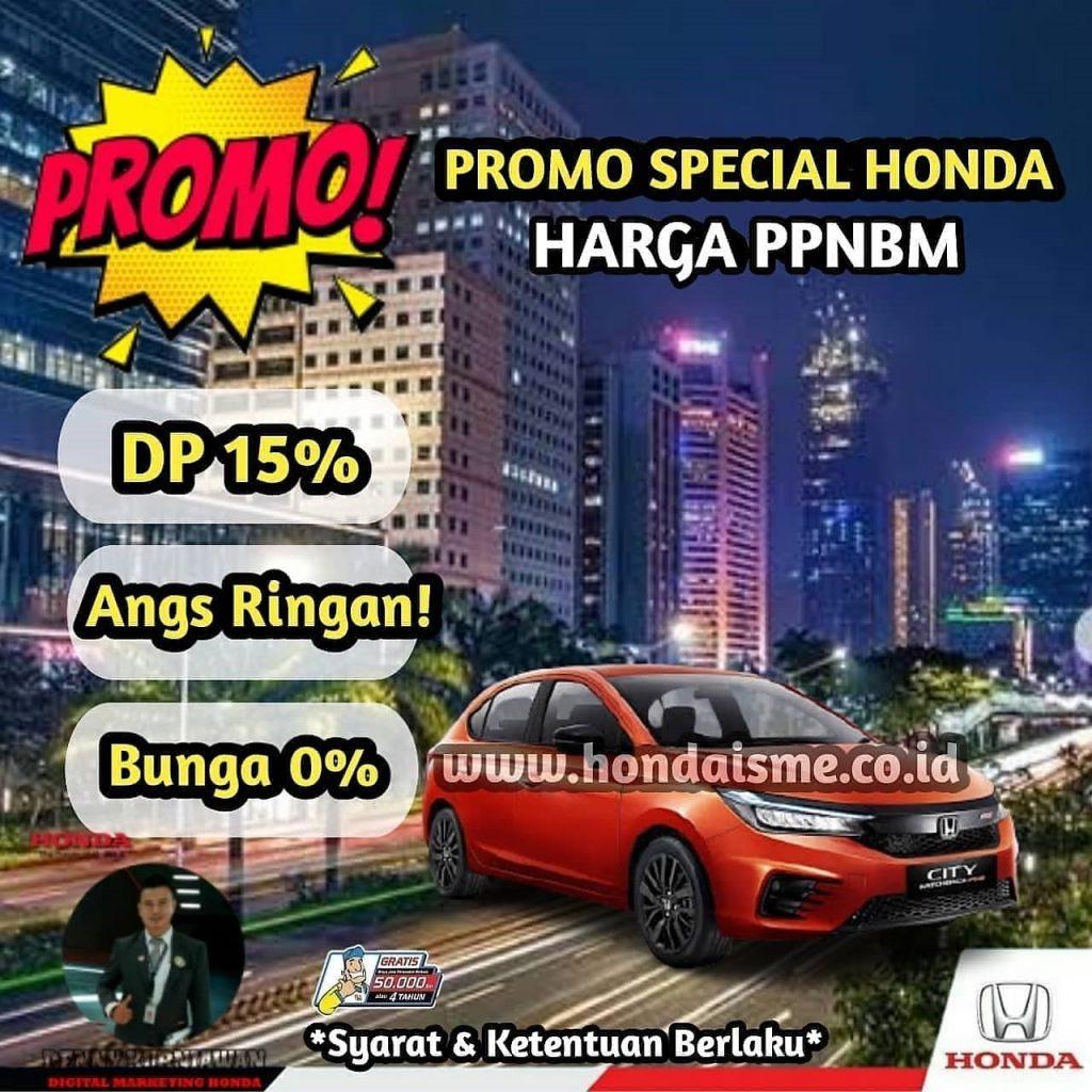 Promo Honda City Hatchback PPnBM