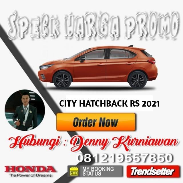 Harga Honda City Hatchback RS 2021