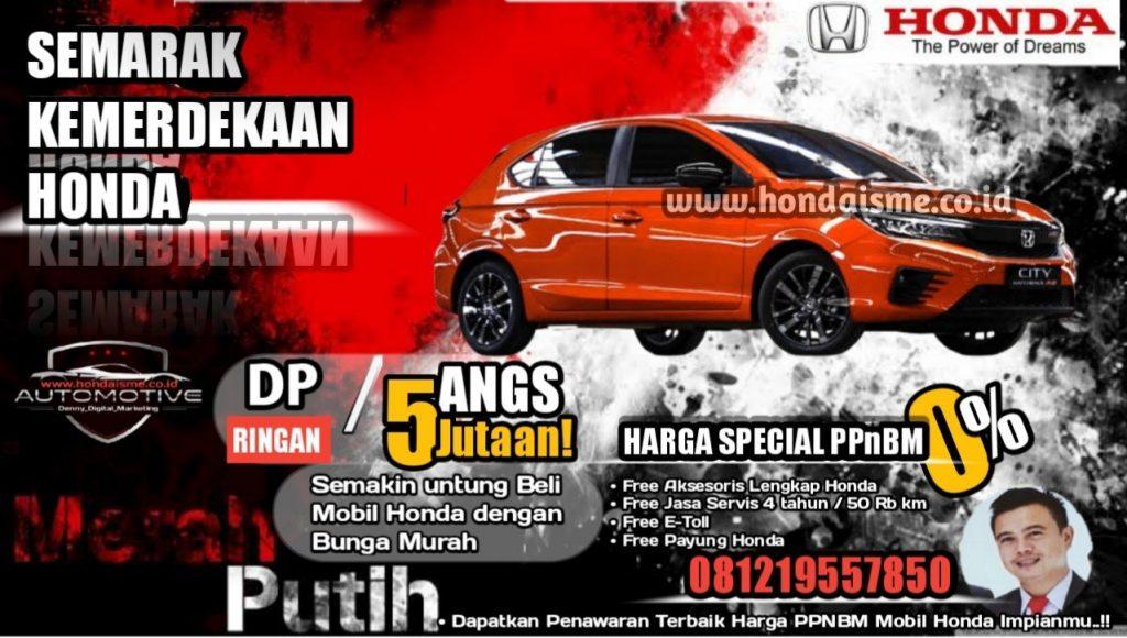 Honda City Hatchback Agustus 2021