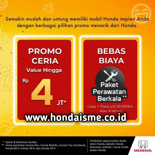 Promo Ceria Honda September