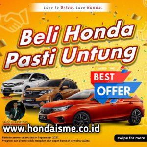 Promo Honda September Ceria